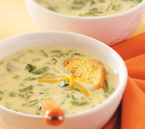 Creamy Cheddar Cheese Soup