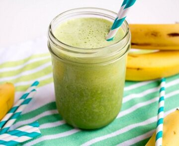 Spinach and Banana Power Smoothie recipe